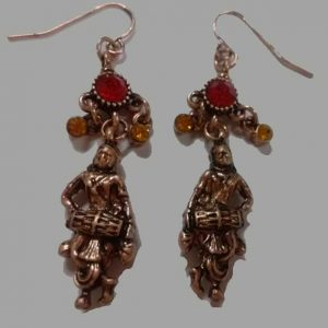 Mirdanga EarRings Copper
