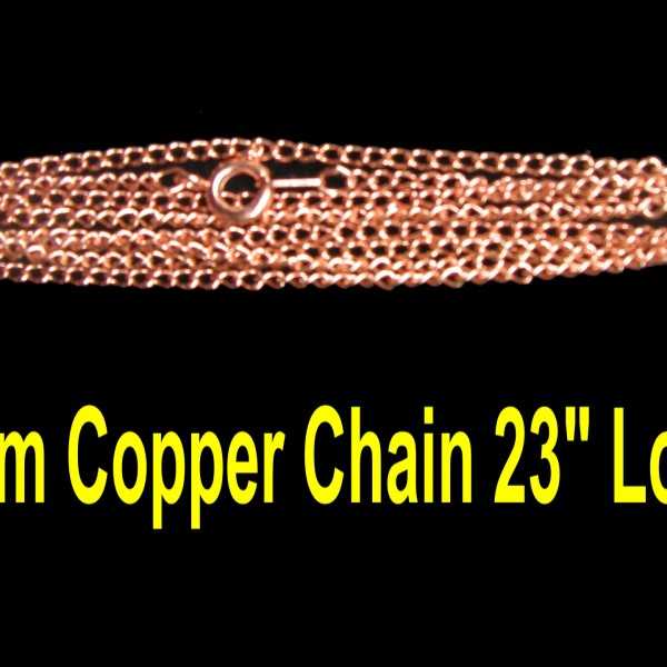 This copper chain is cool !