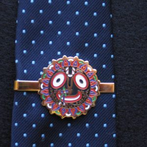 Transcendentalize ANY tie with this Jagannatha Tie Clasp.