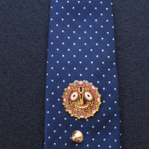 Transcendentalize any Tie with this Jagannatha Tie Tac!