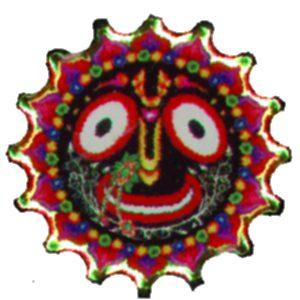 Cool small pin of Lord Jagannath!
